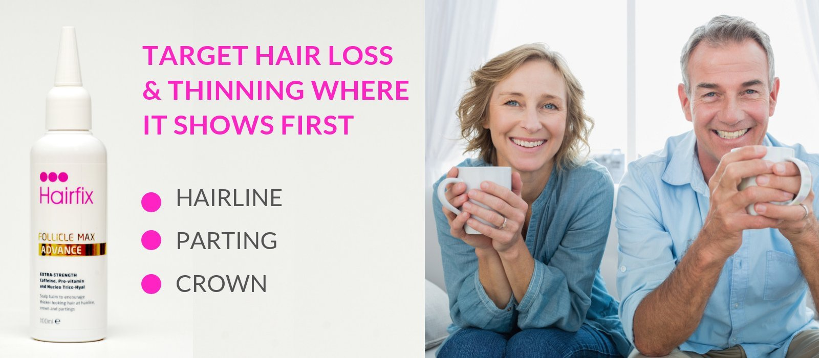 Hairfix for hair loss & thinning