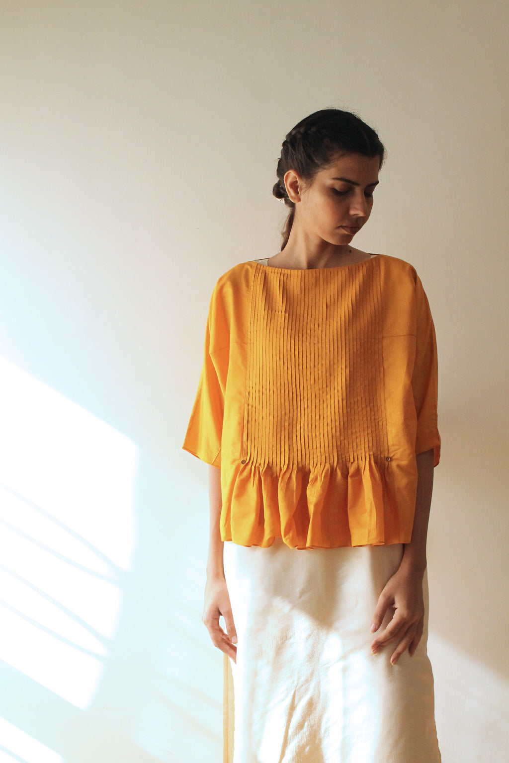 Marigold blouse Top