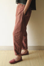Side Pleated Comfort fit Trouser