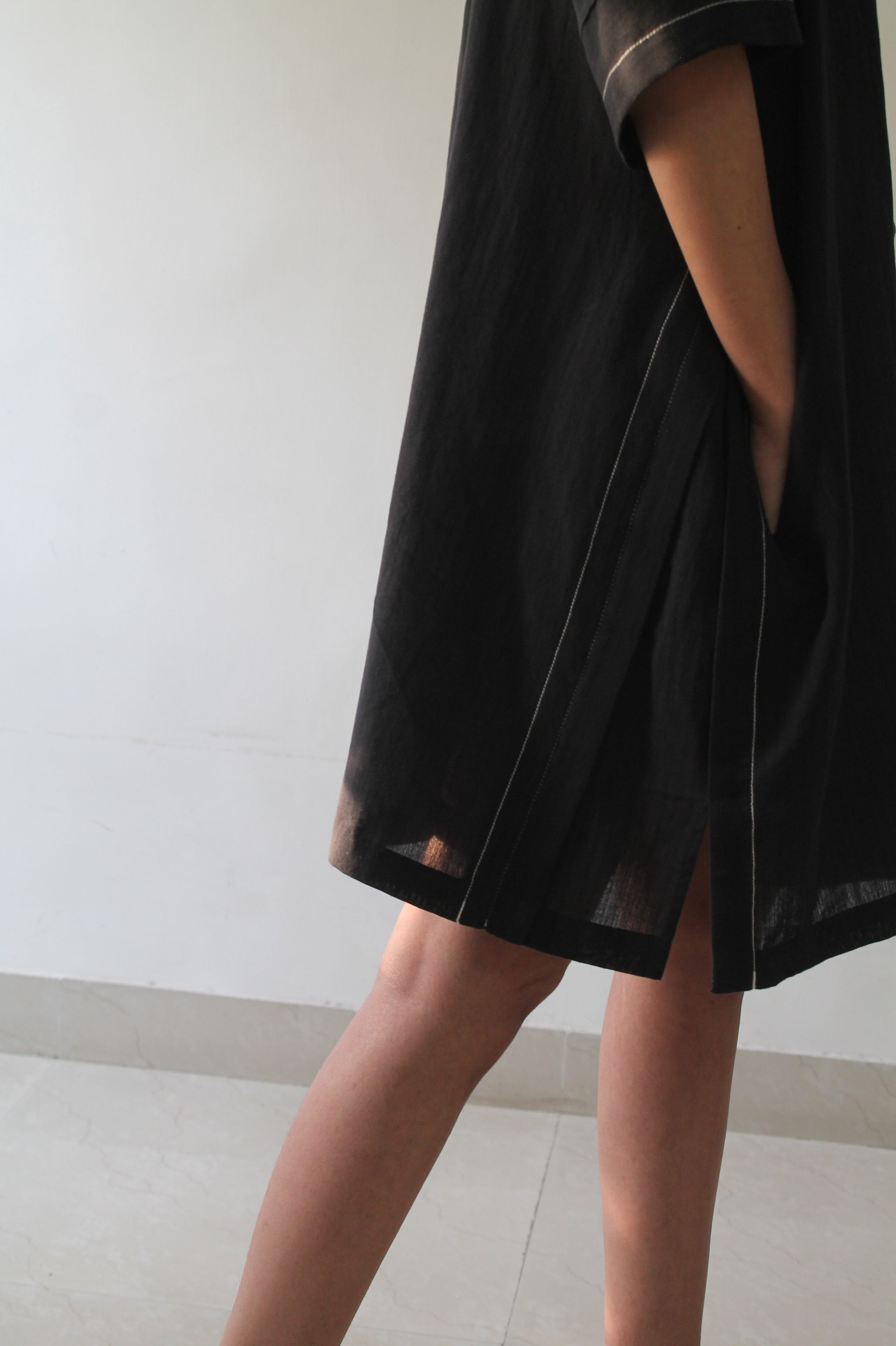 Vintage Black wrap Dress