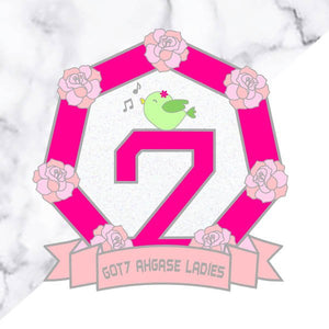 GOT7 Ahgase Ladies Pin
