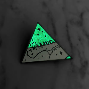 Yugyeom Scorpio Pin- GLOW IN THE DARK!