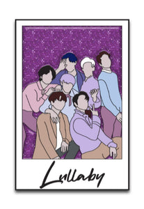 Lullaby Polaroid Enamel Pin