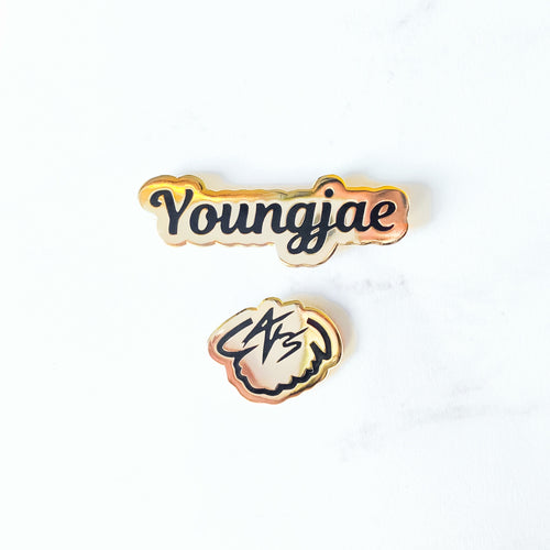 Youngjae Birthday Pin Set