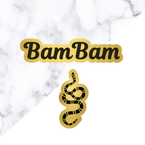 BamBam Birthday Pin Set