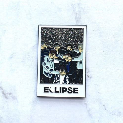 Eclipse Polaroid Pin