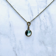 Load image into Gallery viewer, Ahgase Birthday Moon Necklace
