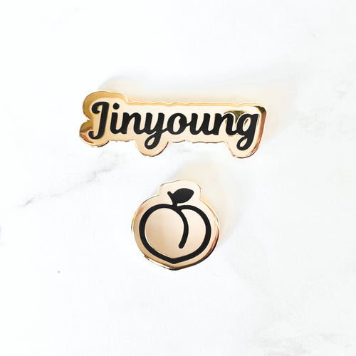 Jinyoung Birthday Pin Set