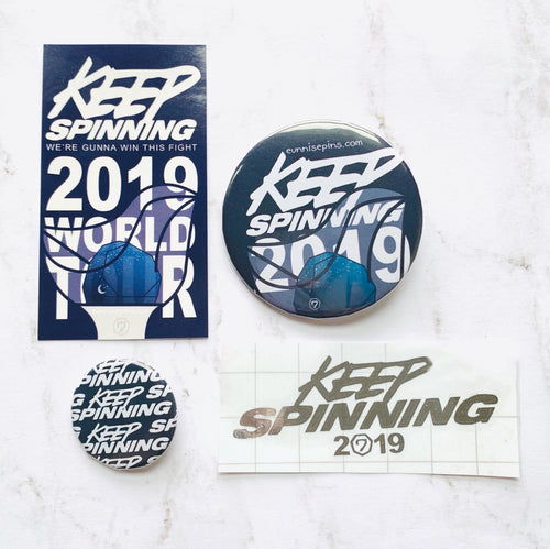 Keep Spinning World Tour Pack