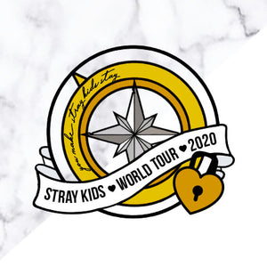 Stray Kids Unlock World Tour Pin