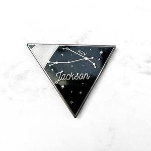 Jackson Wang Aries Pin- GLOW IN THE DARK!