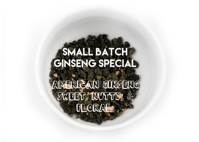 American Ginseng Oolong Tea