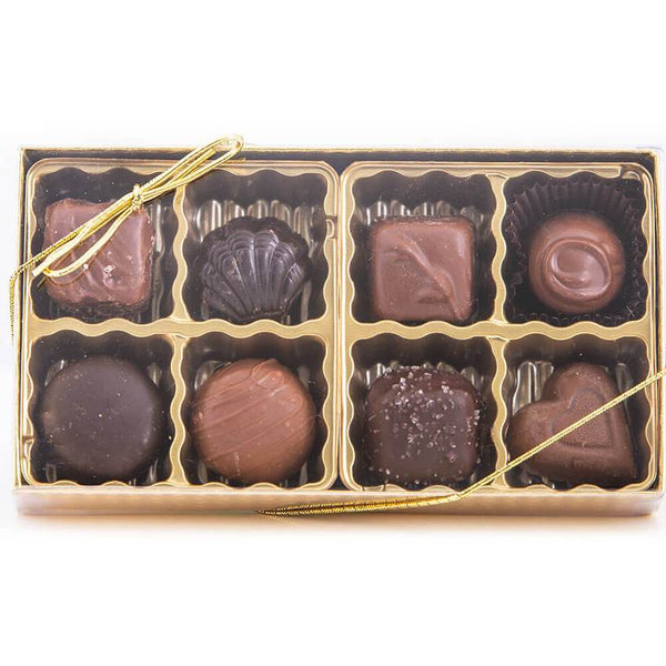Holiday Assorted Chocolates Gift Box (8 count)