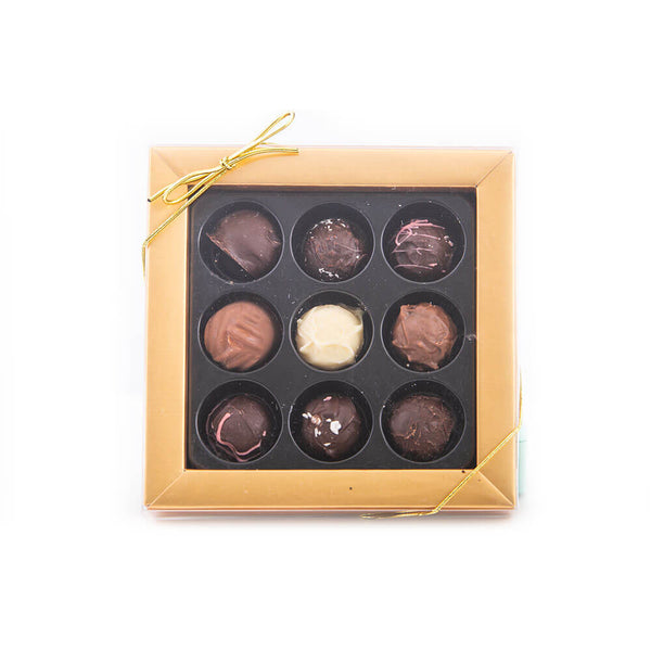 Assorted Truffle Box (9 count)