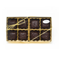 Chocolate Caramels with Sea Salt Gift Box (8 Count)