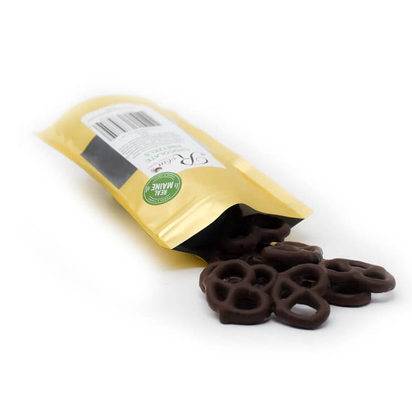 Chocolate Covered Mini Twist Pretzels (2.5 Oz)