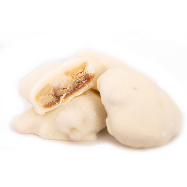 White Chocolate Cashew Caramel Cluster (6 count)