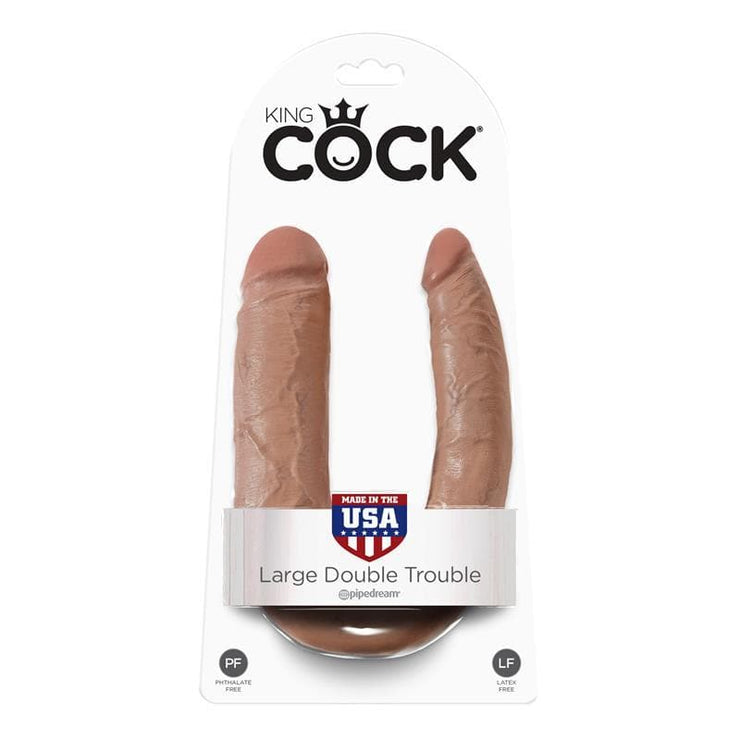 KING COCK PENE DOBLE PENETRACIÓN GRANDE