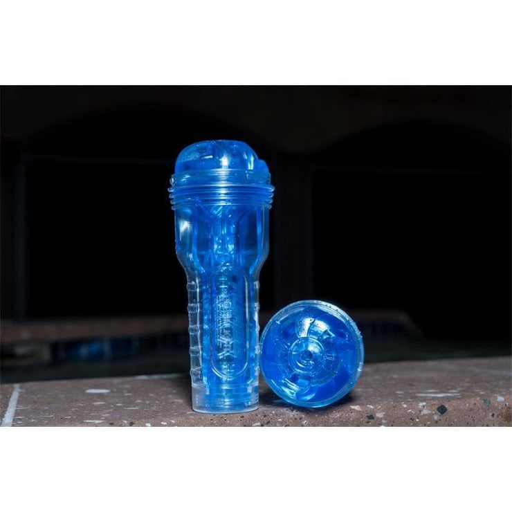 FLESHLIGHT TURBO THRUST HIELO AZUL