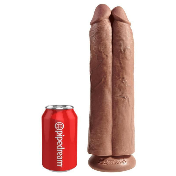 "KING COCK PENE DOBLE ""TWO COCKS ONE HOLE"" 11"""