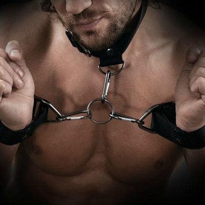 SET ESPOSAS Y COLLAR BONDAGE SIR RICHARDS