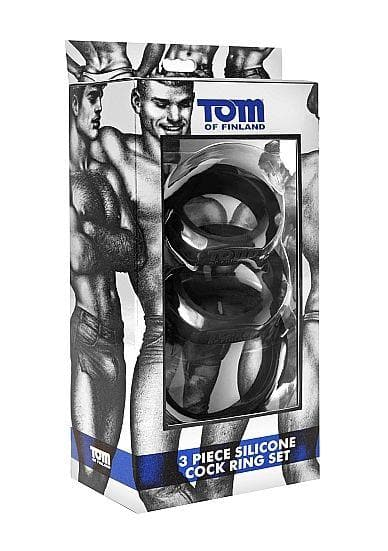 SET DE TRES COCKRINGS TOM OF FINLAND