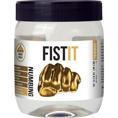 FIST IT LUBRICANTE NUMBING 500 ML