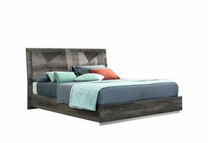 Alf Italia Bed Queen Favignana Platform Bed