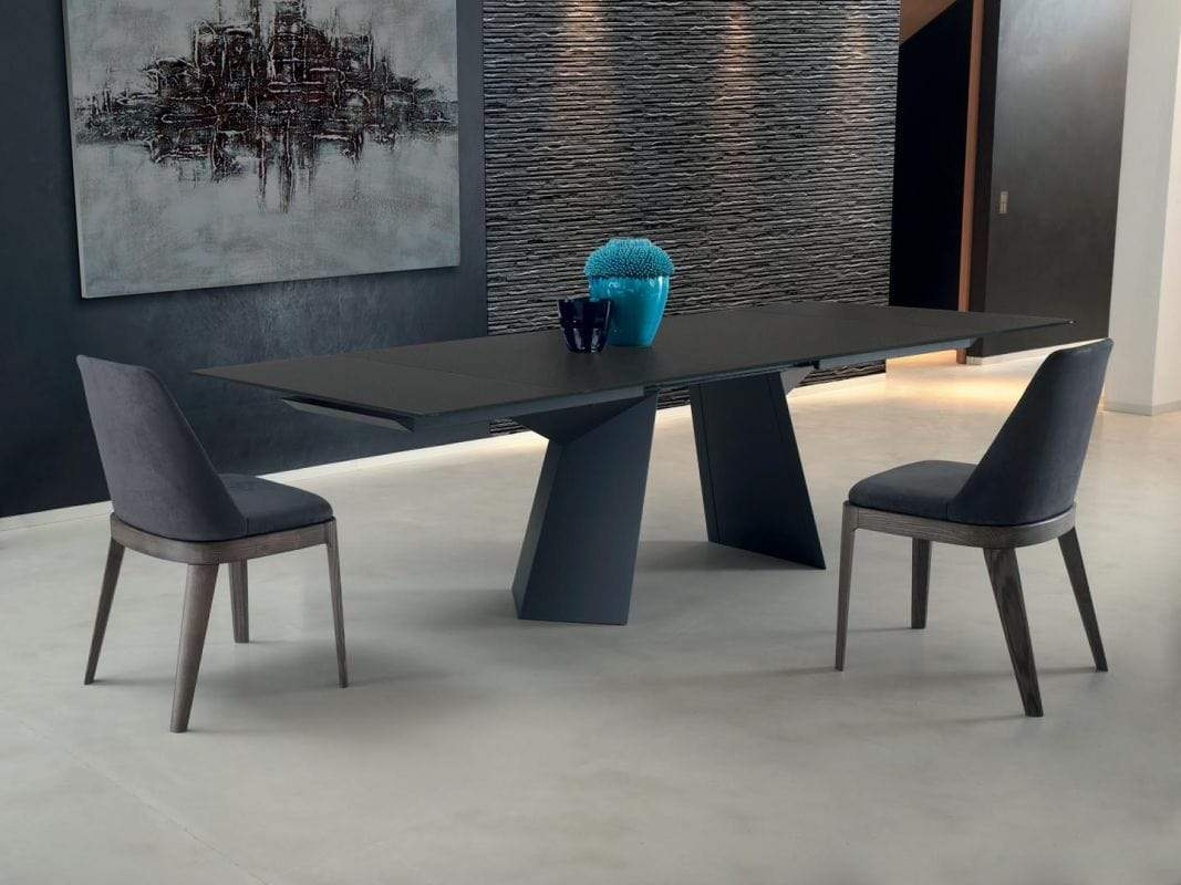 Bontempi Casa Dining Table Fiandre Walnut Table 20.65