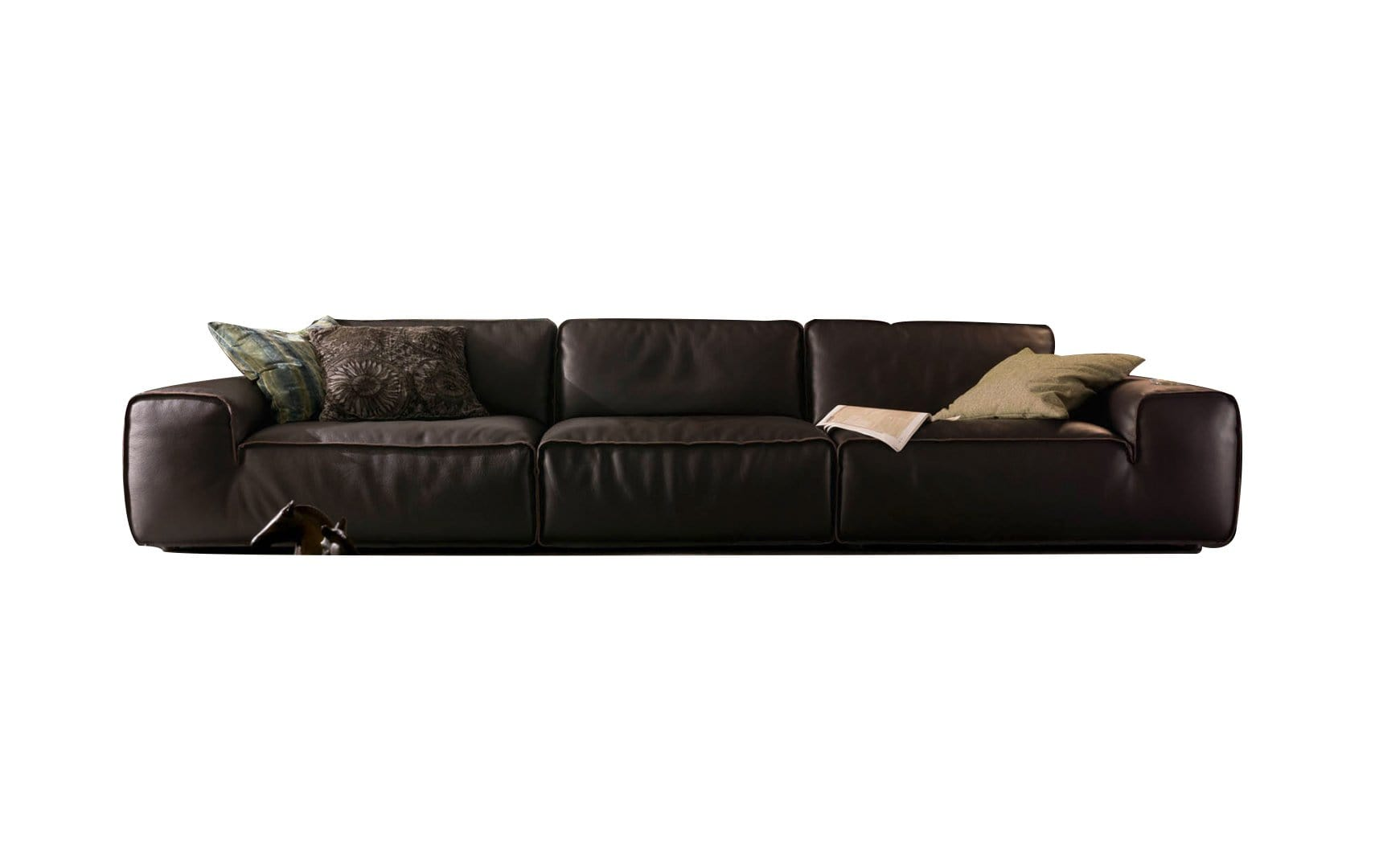 Chateau D'ax Couches & Sofa Avenue Leather Sofa Delux (U914)