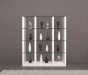 J and M Furniture Wall Unit Cloud Modular Wall Unit in High Gloss