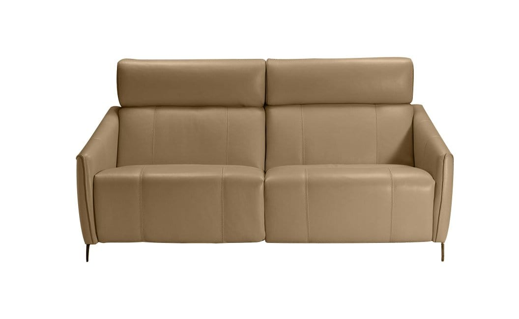 Loiudiced Couches & Sofa Sunset Reclining Leather Sofa