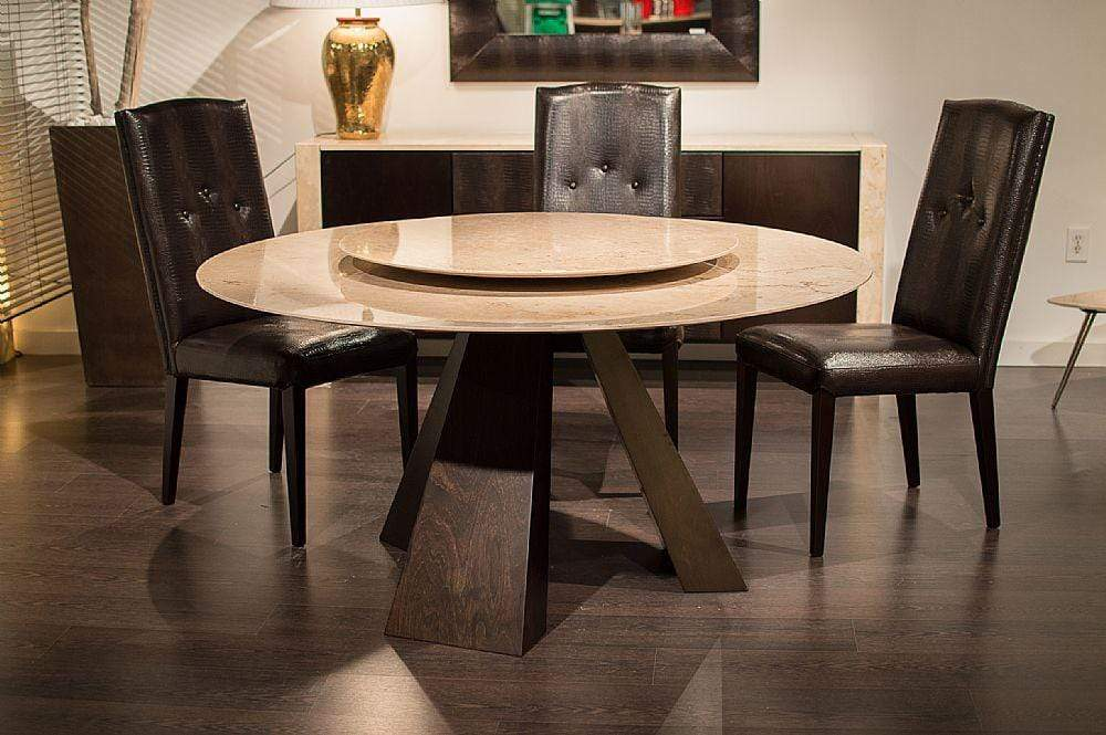 Stone International Dining Room Butterfly Wood Round - 9697