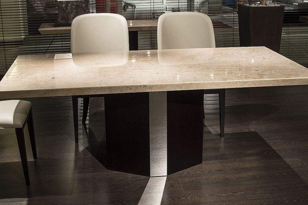 Stone International Dining Room Rialto Marble Table - Beveled Edge (4046/P)
