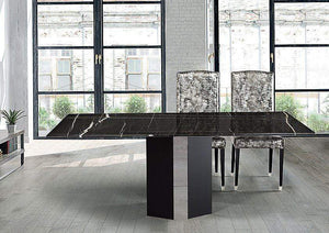 Stone International Dining Room Rialto Marble Table - Thin Edge (4066/S)