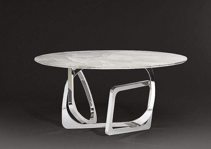 Stone International Dining Room Tangle Round Marble Table (6507/59)