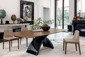 Tonin Casa Dining Table Tokyo Wood Dining Table