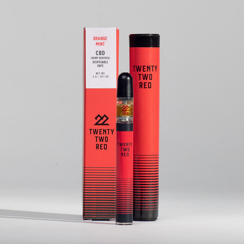 Orange Mint Hemp Oil Disposable Vape