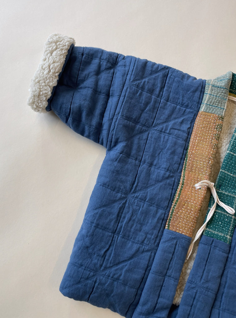 Aomamé - Children's winter haori jacket Yamato