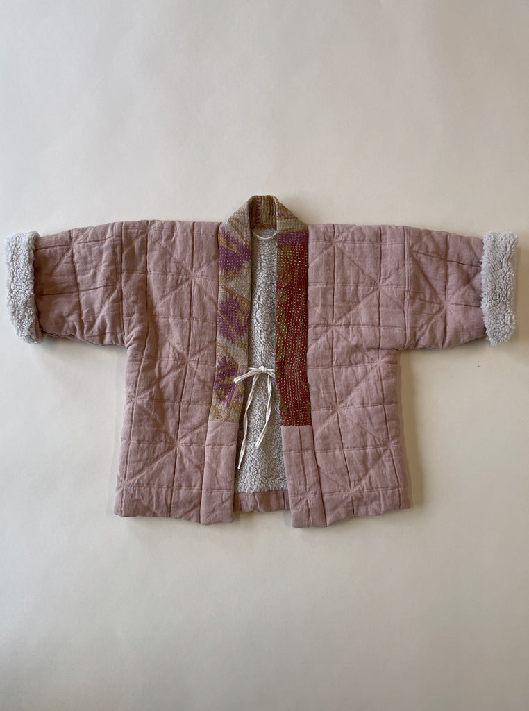Aomamé - Children's winter haori jacket Sakura