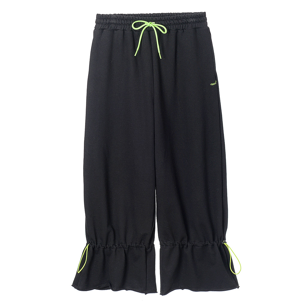 NEUL - Coulisse flared sweatpants