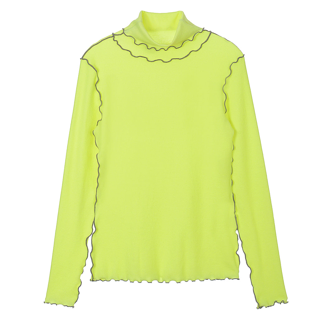 NEUL - Dolce Vita wave top Neon Yellow