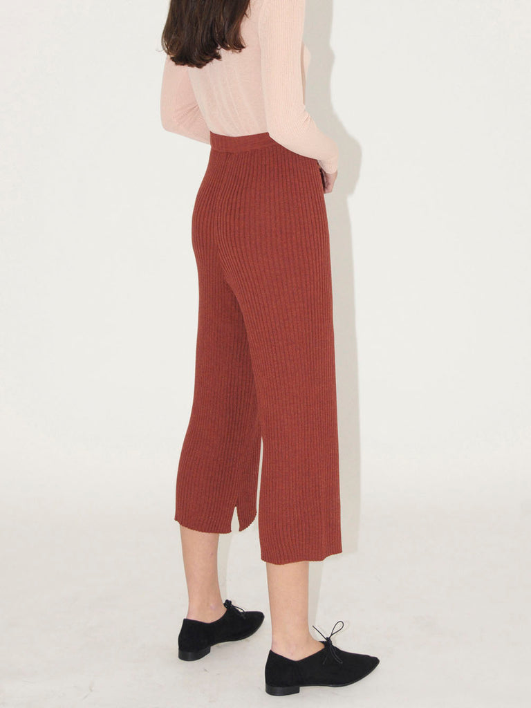 Diarte - NOBLE ribbed trousers