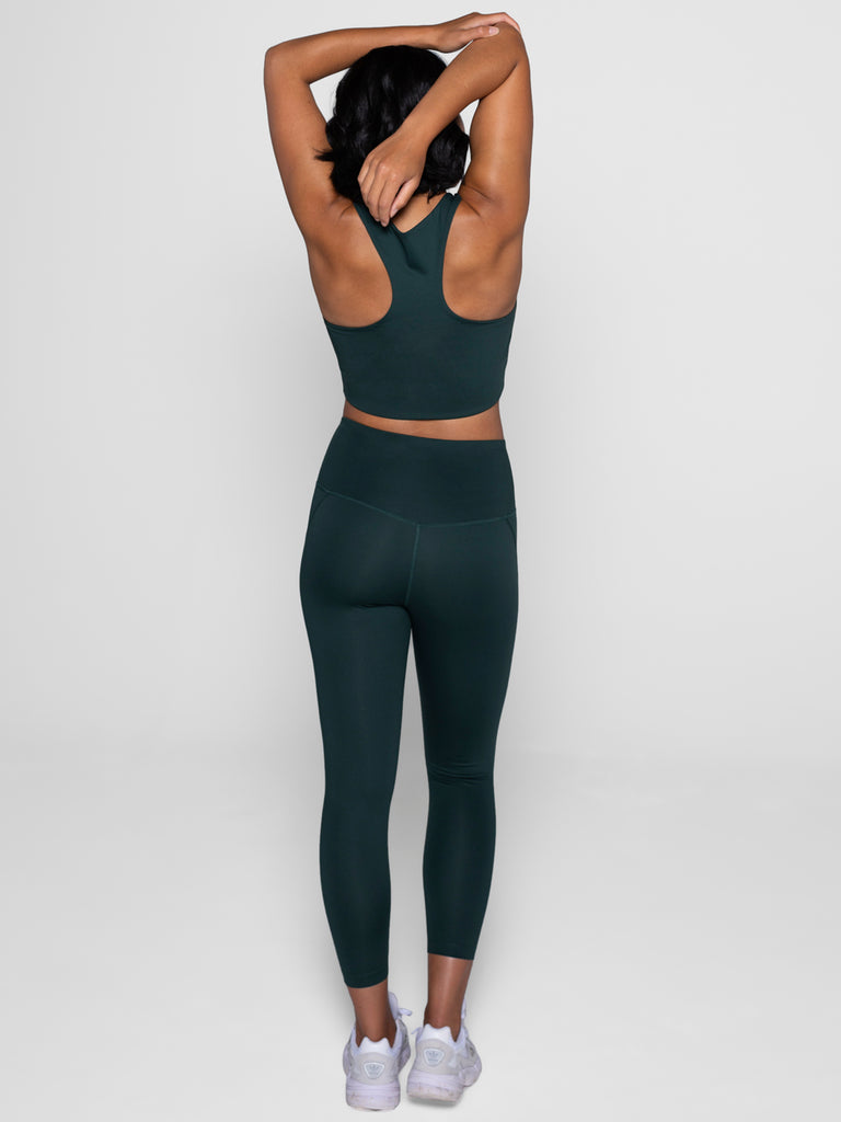 GIRLFRIEND COLLECTIVE compressive high-waisted leggings -Moss