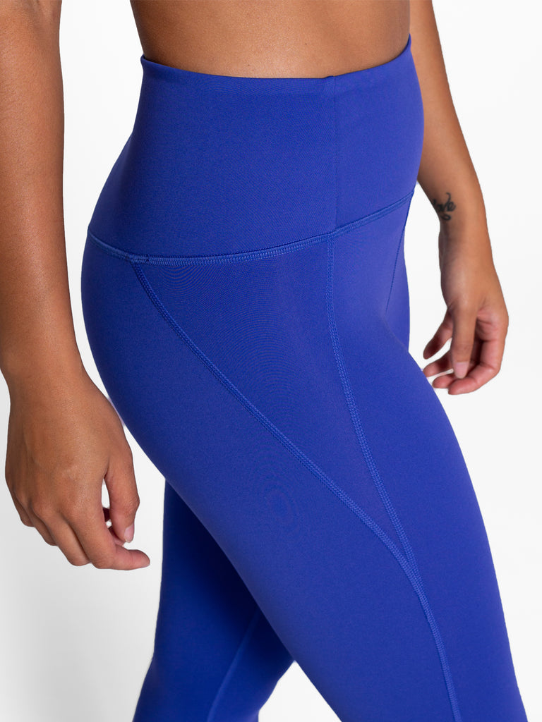 GIRLFRIEND COLLECTIVE compressive high-waisted leggings 7/8 - Pansy