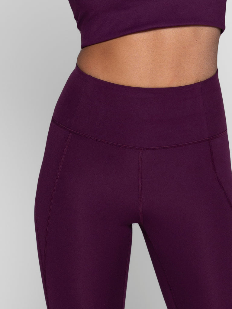 GIRLFRIEND COLLECTIVE compressive high-waisted leggings - Plum