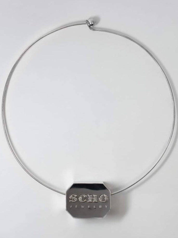 Scho - BONJOUR crystal necklace
