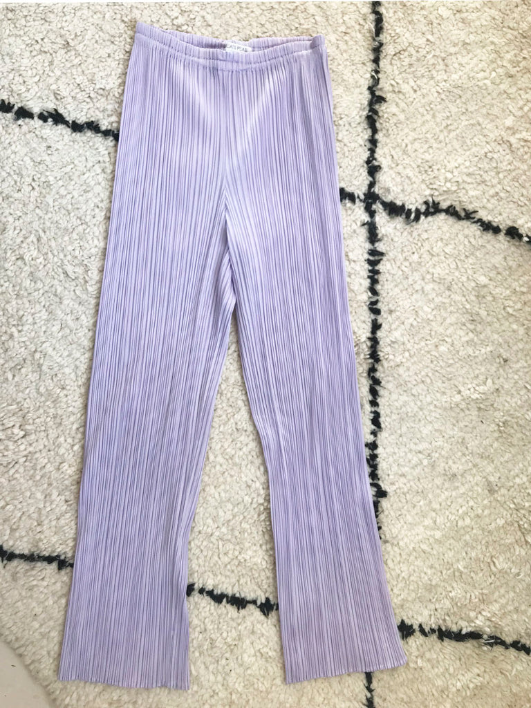 Vintage - Issey Miyake Pleats Please lilac trousers