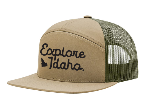 Hats | 7 Panel | Explore Idaho