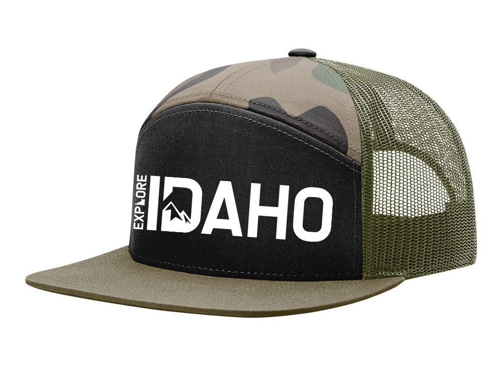 Hats | 7 Panel | Idaho